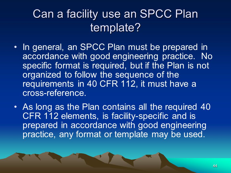 Kern county environmental health ppt download can a facility use an spcc plan template pronofoot35fo Choice Image