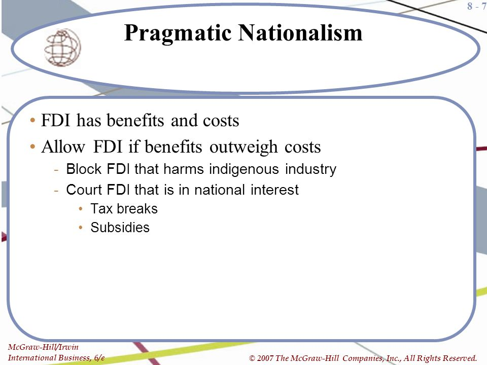 Pragmatic Nationalism