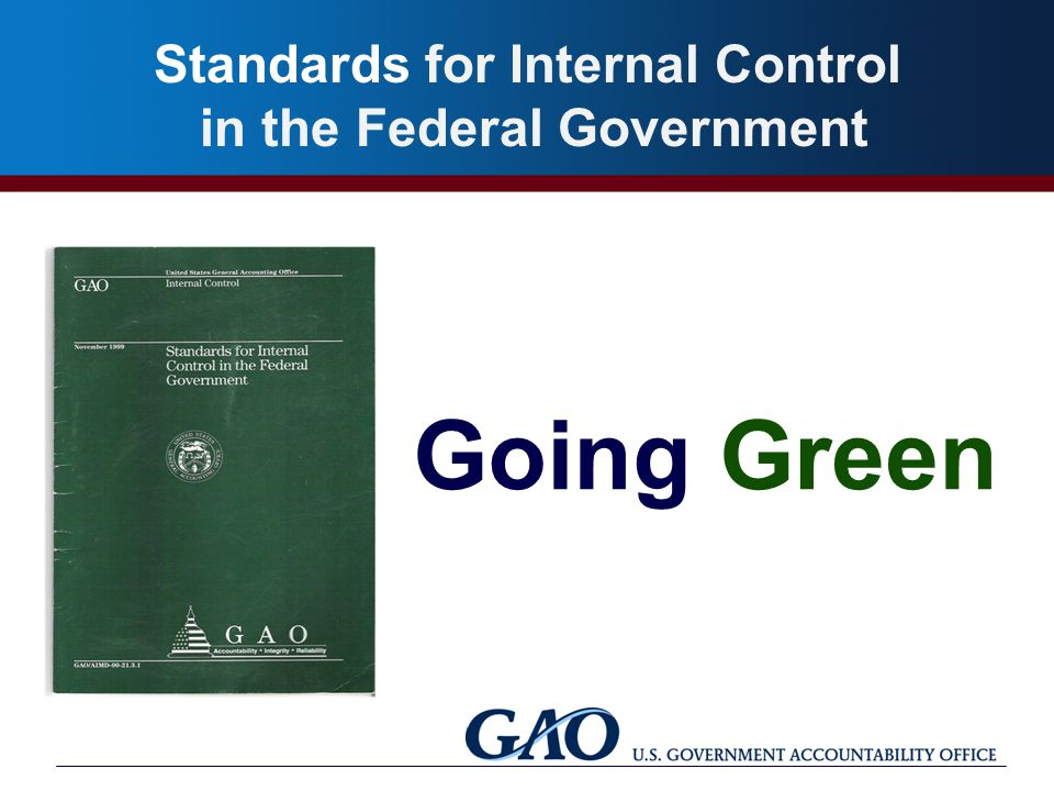 "internal control for local governments ""internal controls, gasb update and some monitoring is the assessment of internal control pronouncement provisions to apply to state and local governments."
