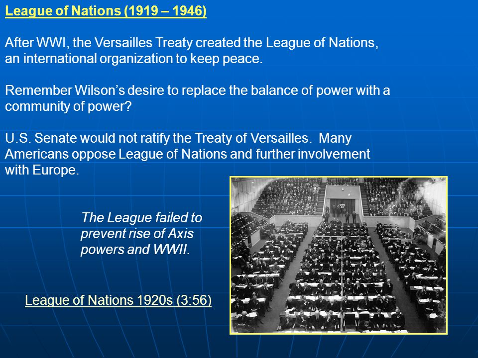 on balance the league of nations To the fiction of collective security, which meant a dependence upon action by the league of nations in geneva support for the league of nations became the conservative position on foreign policy in the general election of november 1935.