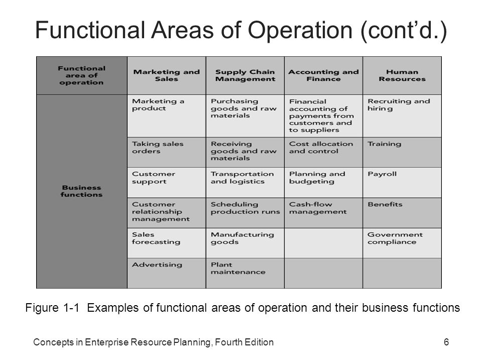 functional areas of business 2 essay Describe different types of information systems information technology essay figure 21 shows how the business functions and for different functional areas.