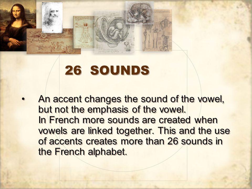 26 SOUNDS