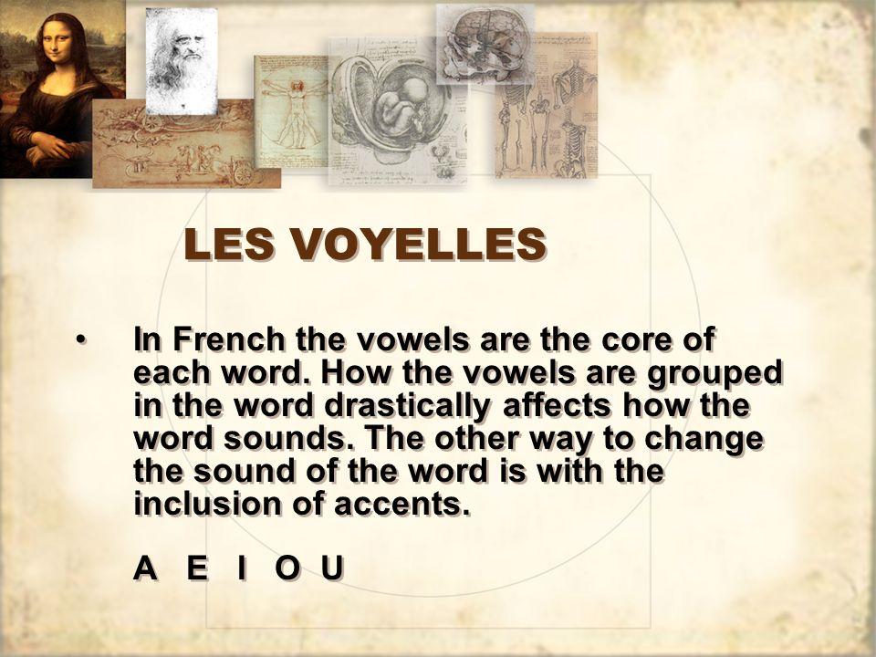 LES VOYELLES