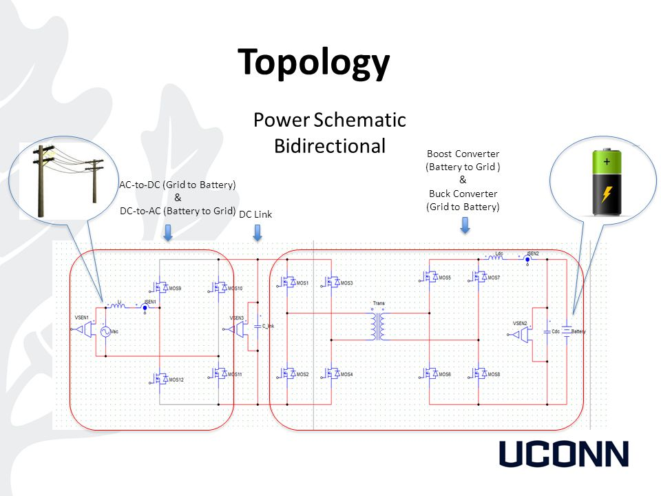 Topology Power Schematic Bidirectional Boost Converter