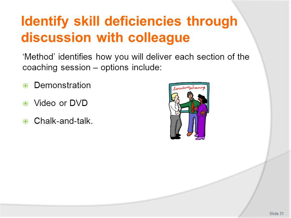 coaching other in job skills pdf