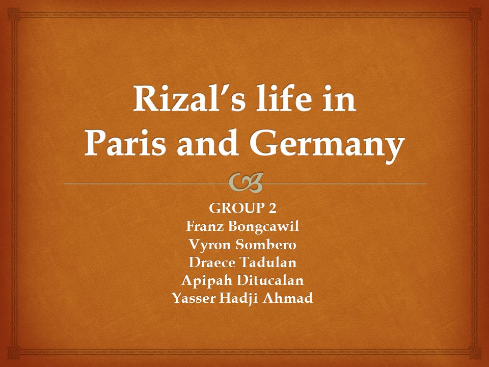 rizal in paris Rizal's second sojourn in paris and the universal exposition of 1889 may 6, 1889: exposition of paris opened rizal was fascinated march 19, 1889: kidlat club was formed by rizal the kidlat club was then replaced by indios bravos another secret society the rizal formed was the rdlm paris 1890: annotated edition of morga'ssucesos was published all those time that rizal.