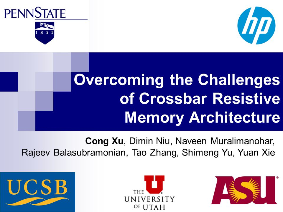Good Morning Everyone Executive Decision Download : Overcoming the challenges of crossbar resistive memory