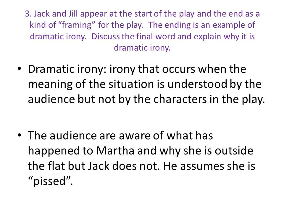 dramatic irony in an inspector calls essay Whether you're looking for a way dramatic irony in an inspector calls essay in to a play or focusing on character analysis there are literally hundreds of brilliant.