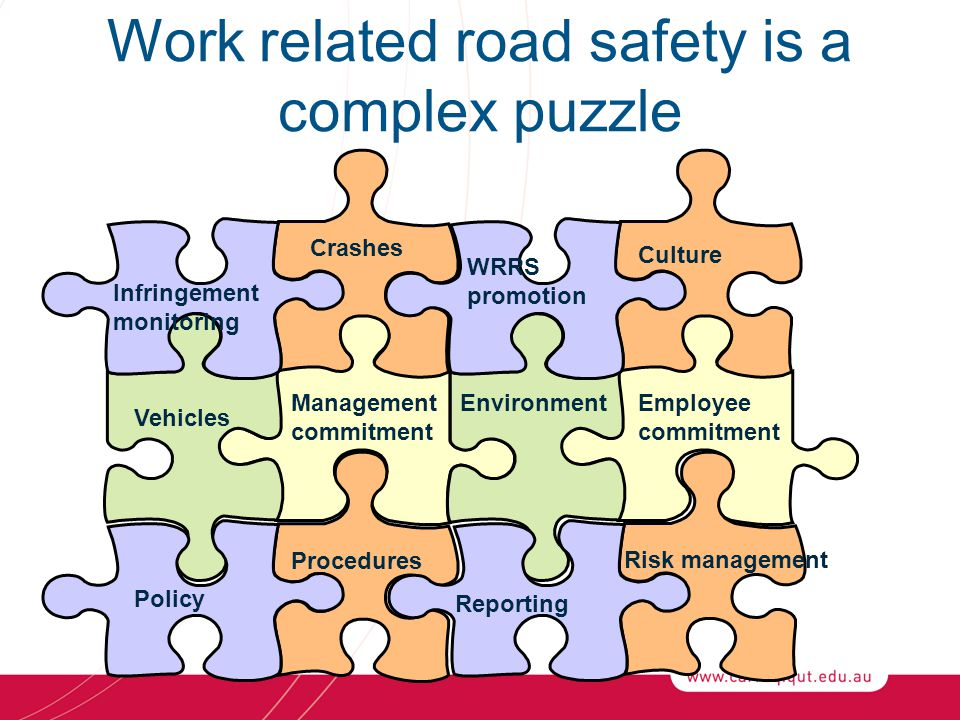 Work related road safety is a complex puzzle