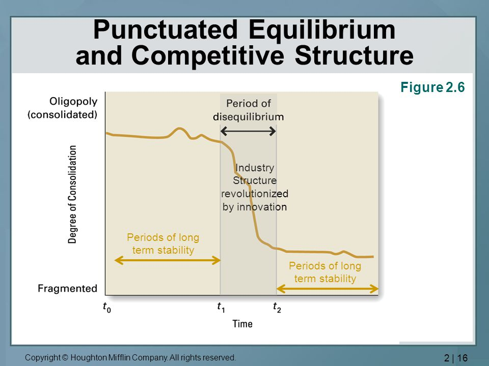 Punctuated Equilibrium and Competitive Structure