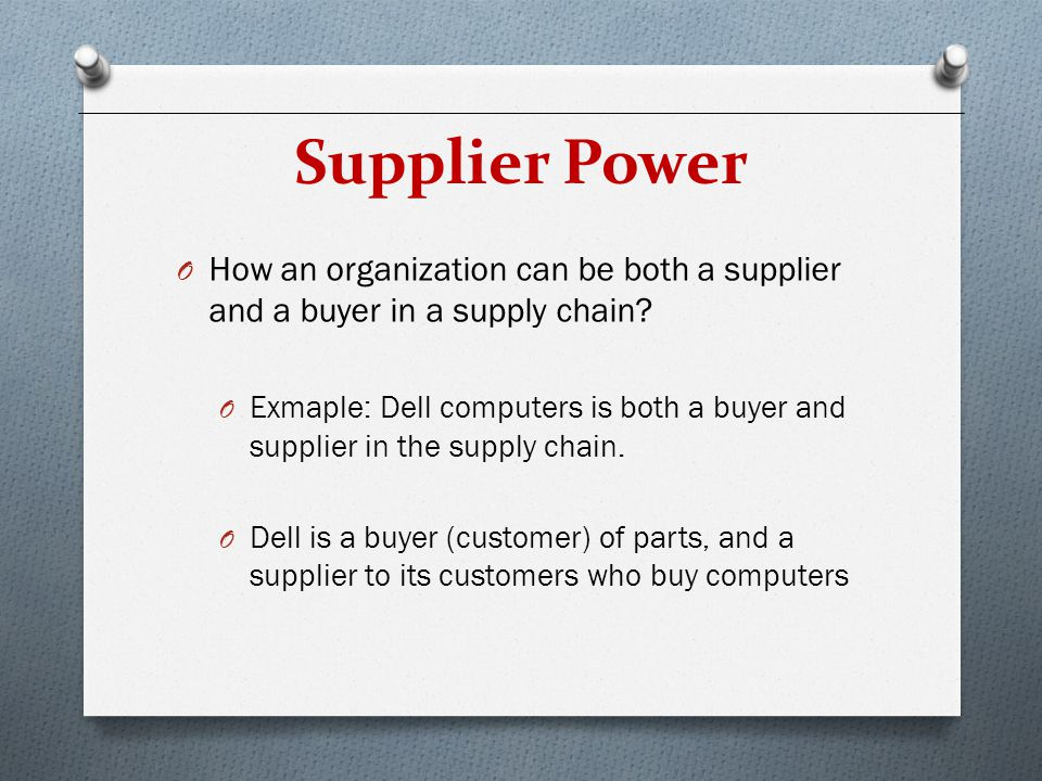 Bargaining power of buyer Essay