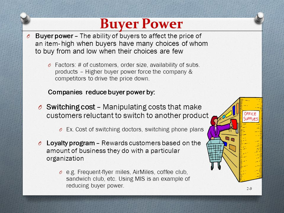 buyer power in the restaurant industry 33 evaluating the industry  in contrast, the restaurant industry is fragmented, meaning that the largest rivals control just a small fraction of the business and.