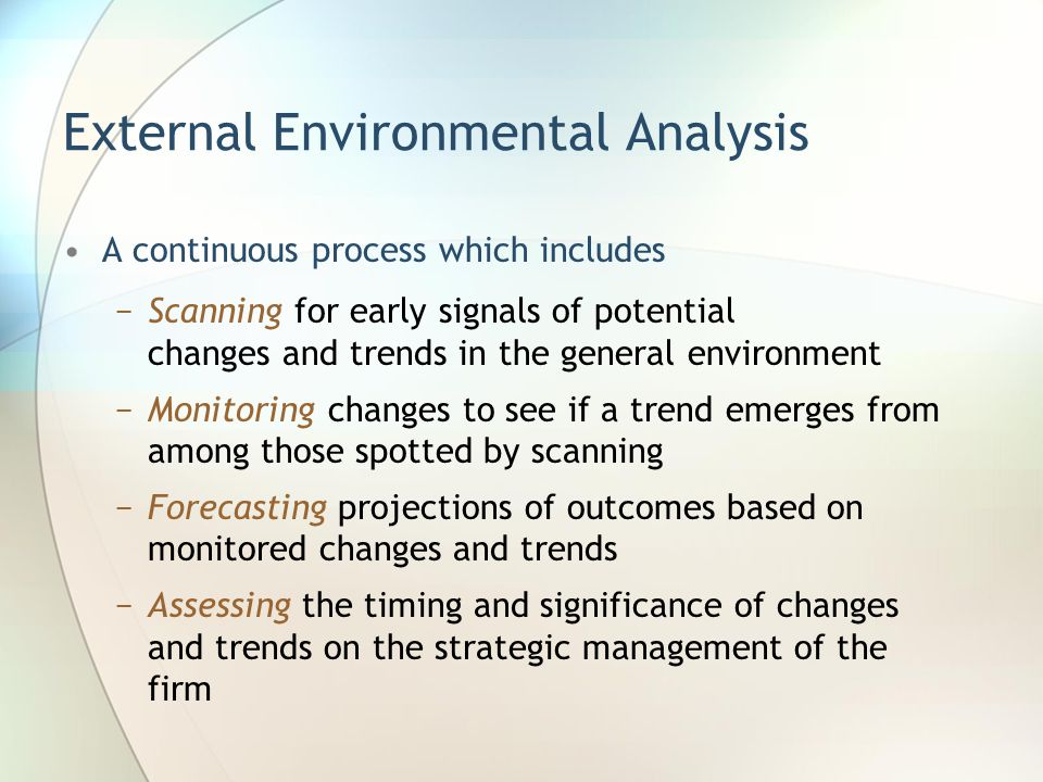 analysis of external and internal environment of absa bank A swot analysis is a comprehensive look at a company's strengths and weaknesses, or internal factors, as well as external factors it faces in the market a company usually starts a swot analysis by studying its strengths, such as a strong brand name or good reputation, and weaknesses, like inexperienced management or.