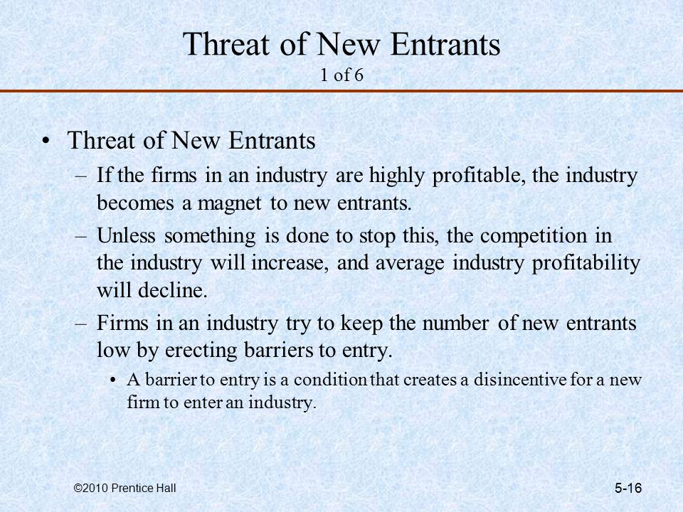 threat from new entrants tourism industry Opportunities for new entrants in wind and solar power markets stimulated by projected growth industry value chains are looking threat of new entrants and.