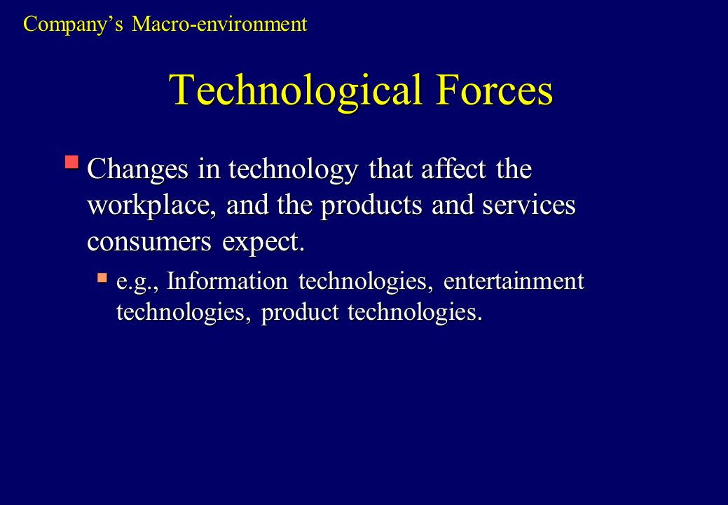 how macro environment affects businesses pdf