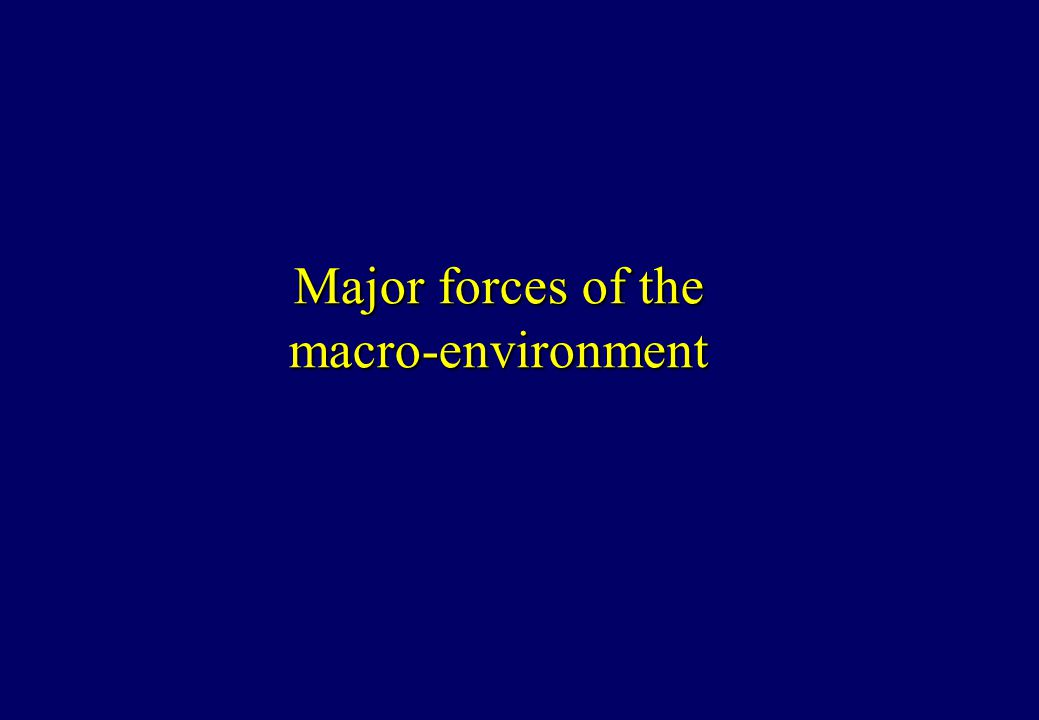 the six macro environments forces essay Six largely uncountable external forces influence our product's marketing  we  will write a custom essay sample on macro environment specifically for you.