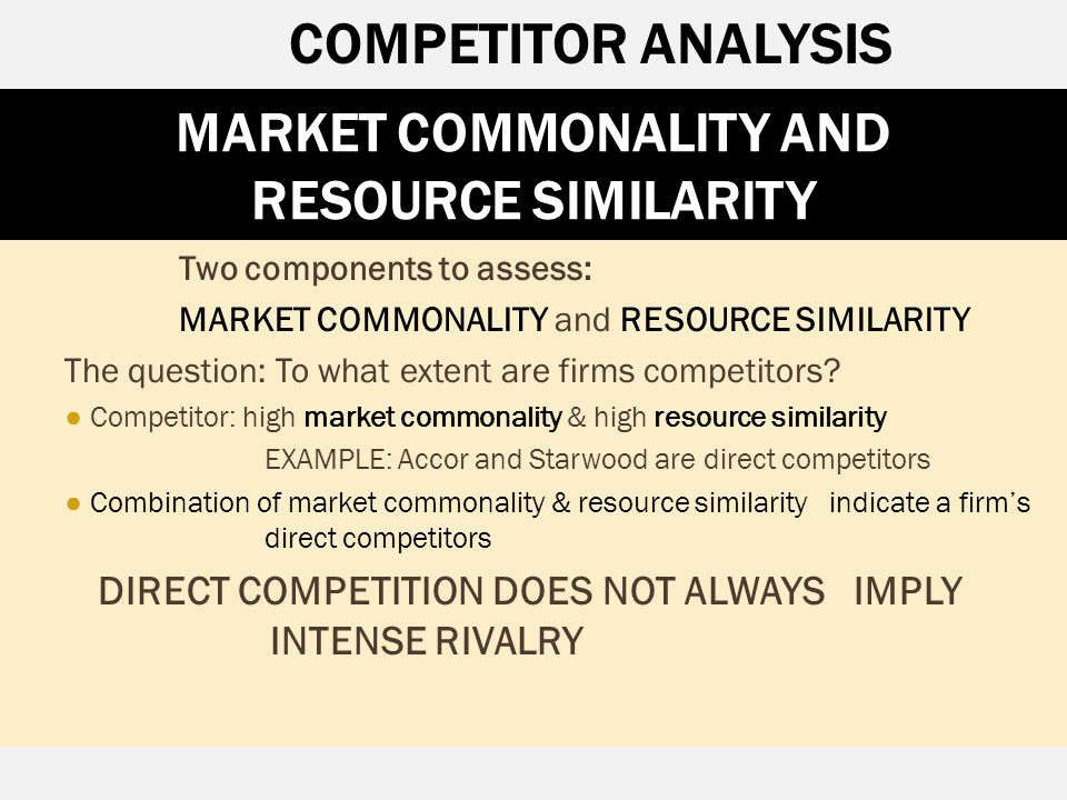 starwood competitor analysis Take a look at dun & bradstreet's perspectives blog to discover cutting edge insights in finance, credit, risk, analytics, marketing and sales, and more.