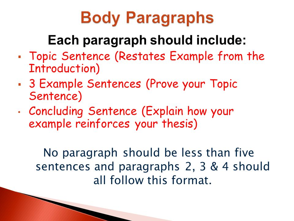 how many paragraphs are usually in the body of the five-paragraph essay What is a 5 paragraph essay and how a 5 paragraph essay five paragraph format usually includes an introduction with first paragraph of your essay body.