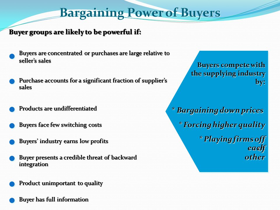 an analysis of imbalance of bargaining power The following is a guest post by dara alami, demonstrating an industry and company analysis of apple the following is a guest post by dara alami, demonstrating an industry and company analysis of apple bargaining power of buyers, bargaining power of suppliers.