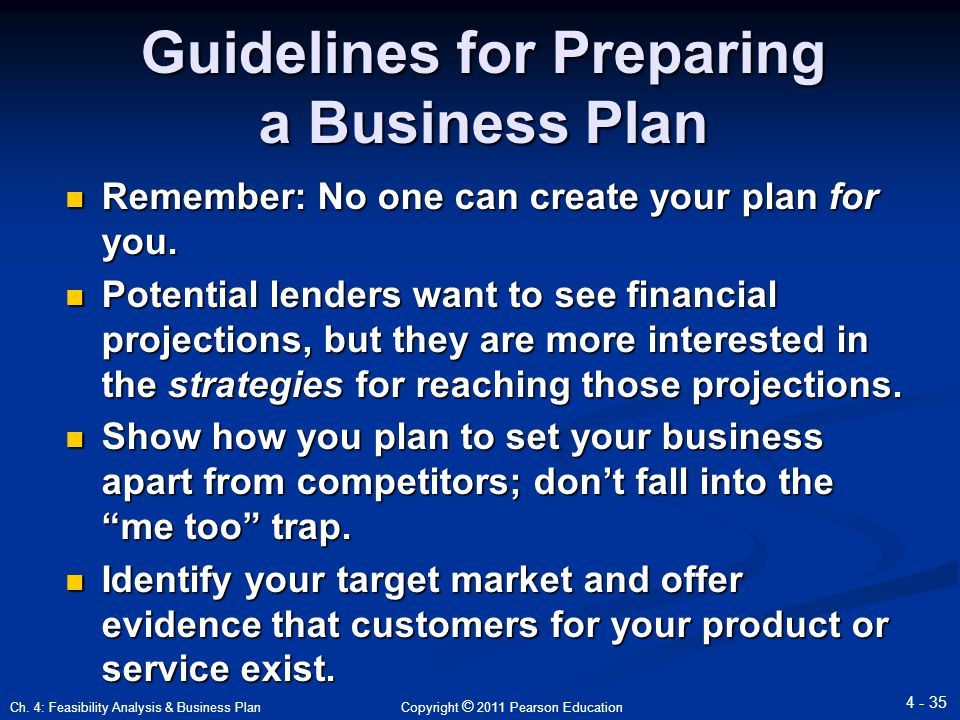 Business Strategy Guidelines