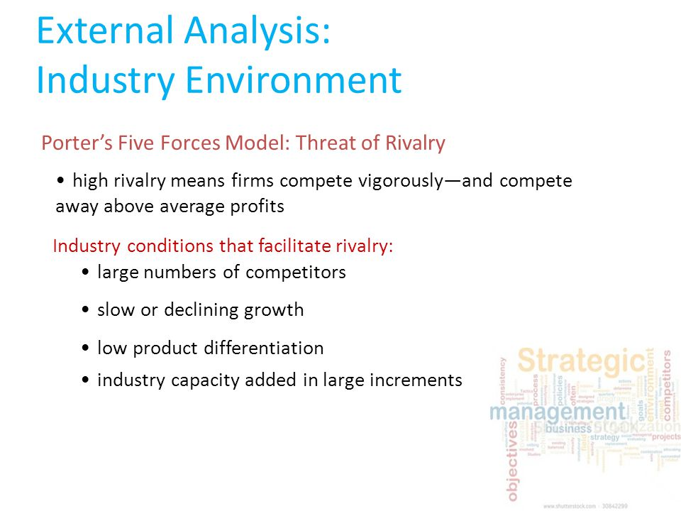 external environment analysis in strategic management pdf