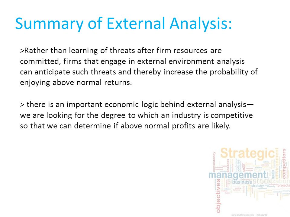 summary of external environment What comprises the external environment of an organization what is environmental uncertainty and how do organizations adapt and control it.