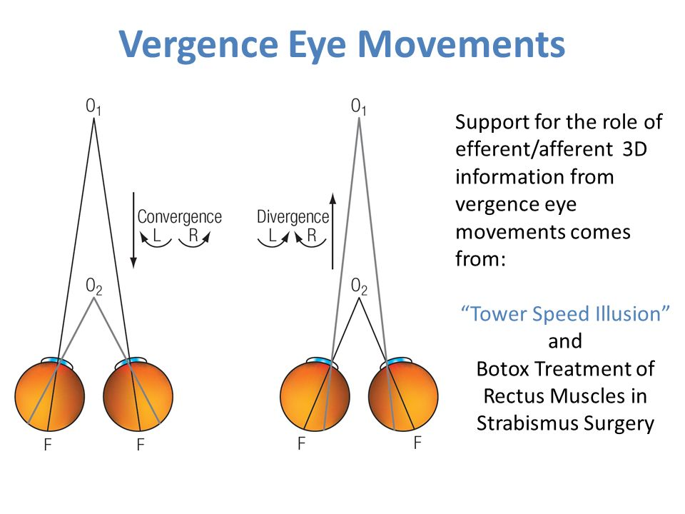 Vergence Eye Movements