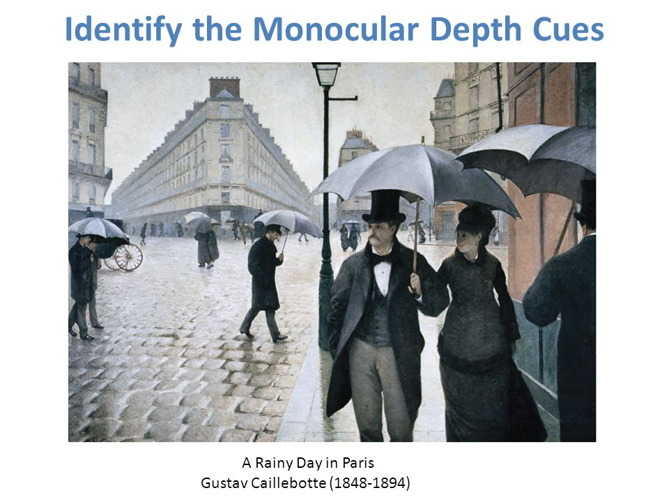 Identify the Monocular Depth Cues