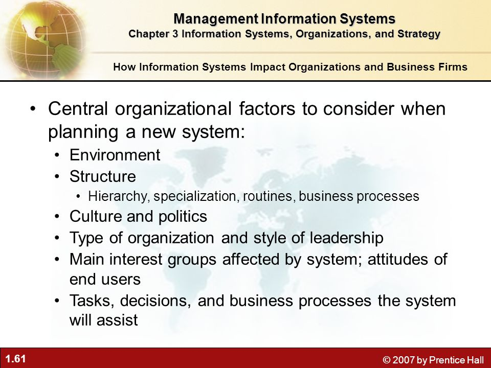 Integration of Information Systems Planning With Overall Business Planning (5 Steps)