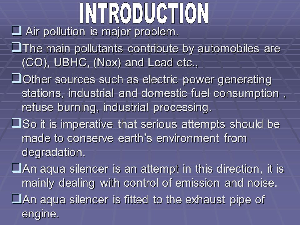 air pollution control solution manual