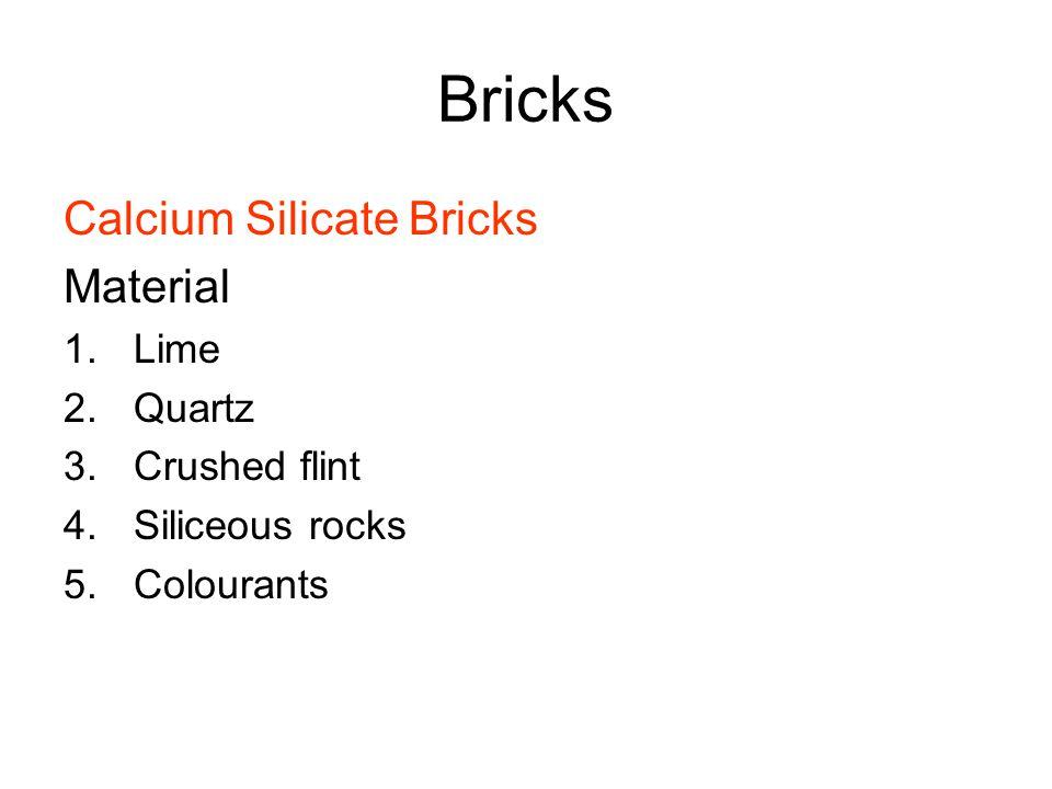 Calcium Silicate Bricks Light Reflecting : Bricks introduction structural member load transfer medium