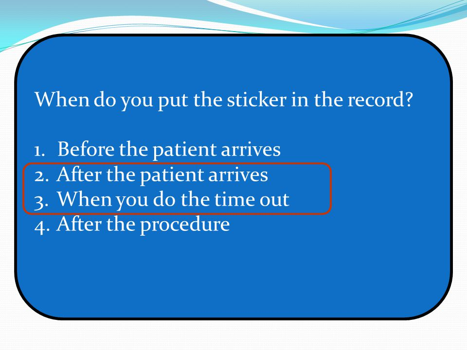 Dental Patient Safety Principles Time Out Ppt Video