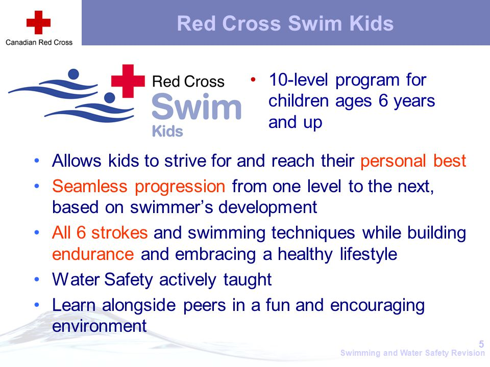 red cross swim levels preschool wsi orientation in service ppt 881