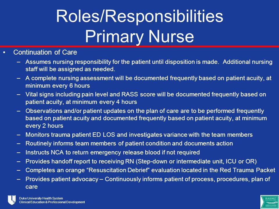 u201ctmip u201d trauma management improvement plan for duke