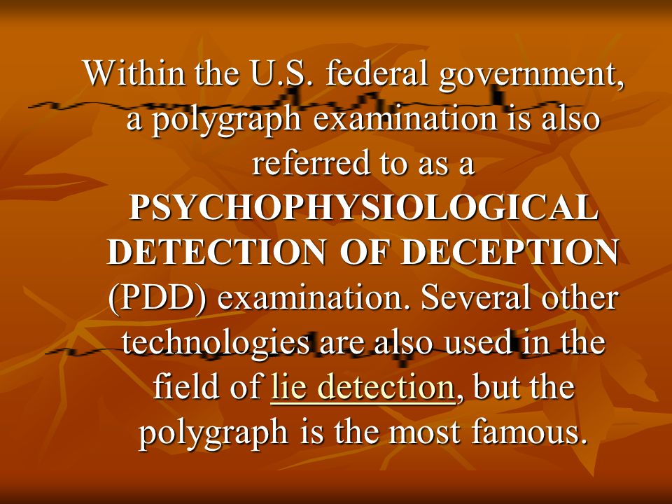 history of the lie detection The lie detectors: the history of an american obsession who was the first evildoer caught by the lie detector the history of an american obsession,.