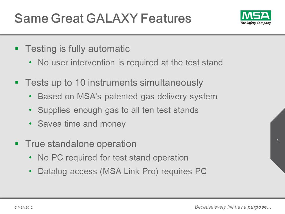 Same Great GALAXY Features