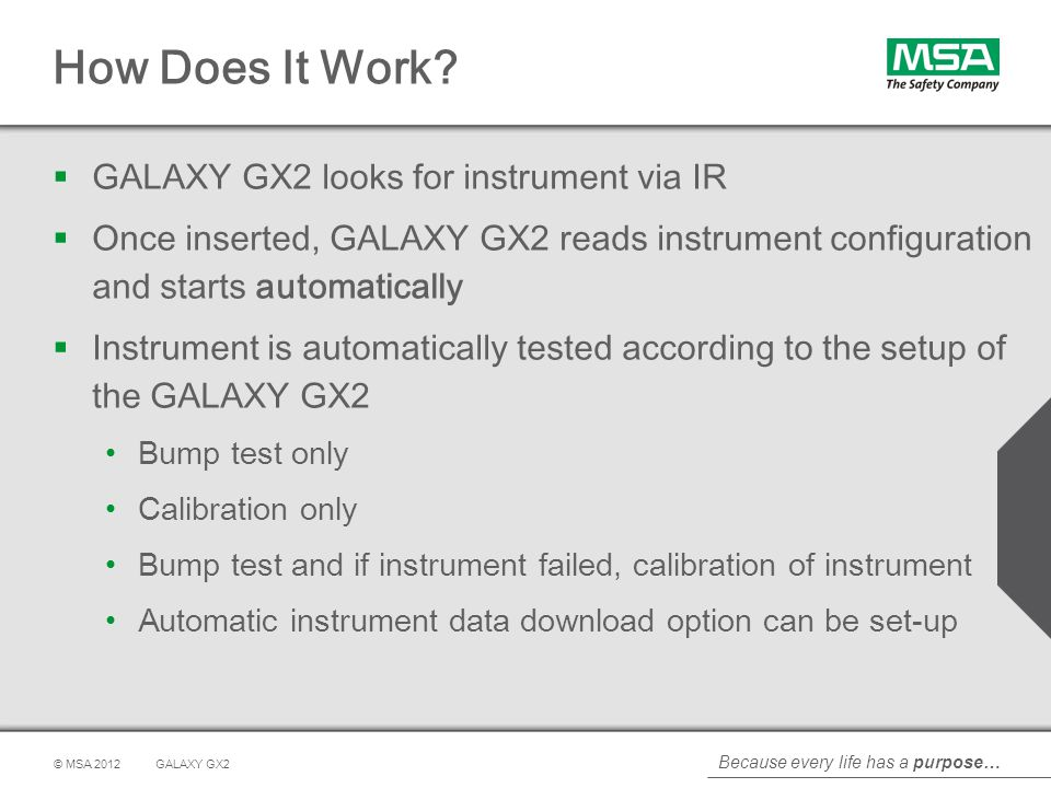 How Does It Work GALAXY GX2 looks for instrument via IR