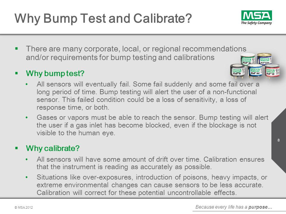 Why Bump Test and Calibrate