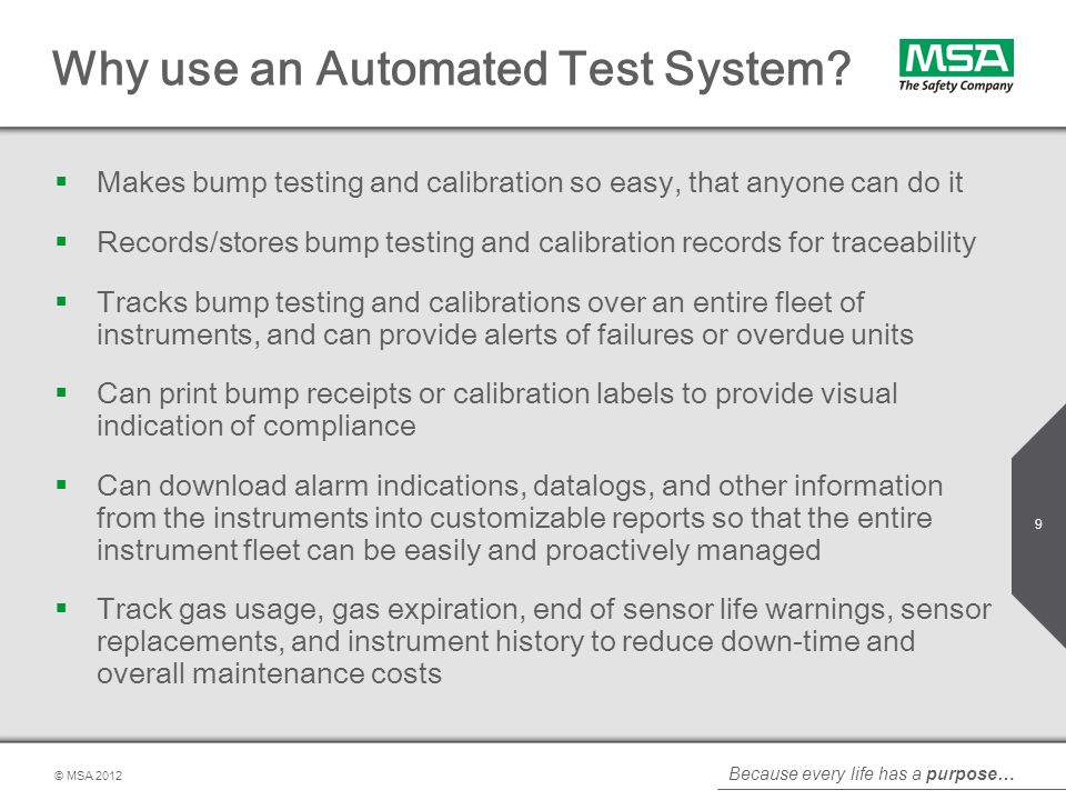 Why use an Automated Test System