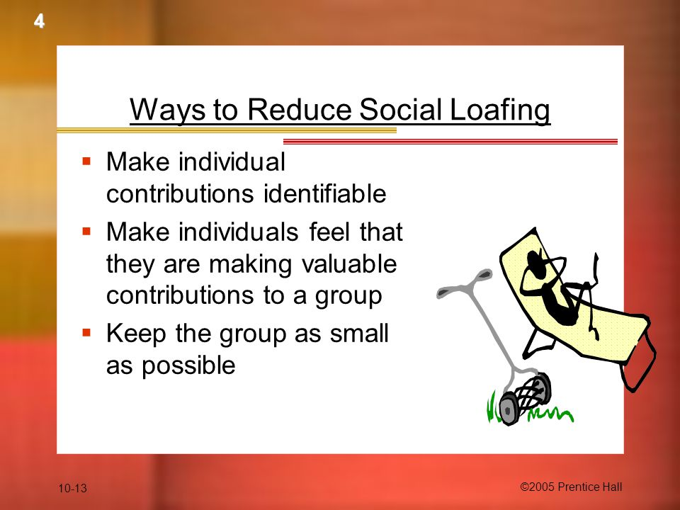 Ways to Reduce Social Loafing