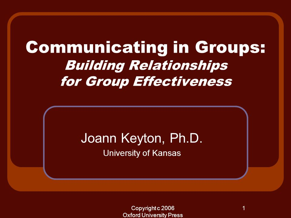 definition of group effectiveness To be an effective team member it is essential to have good people skills and effective communication skills in the open for discussion by the group without.