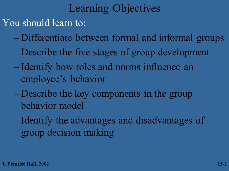 group project decision making advantages Consensus decision-making is a process that builds trust and creates ownership and commitment an effective consensus process (consensus-building) is inclusive and engages all participants consensus decisions can lead to better quality outcomes that empower the group or community to move forward to.