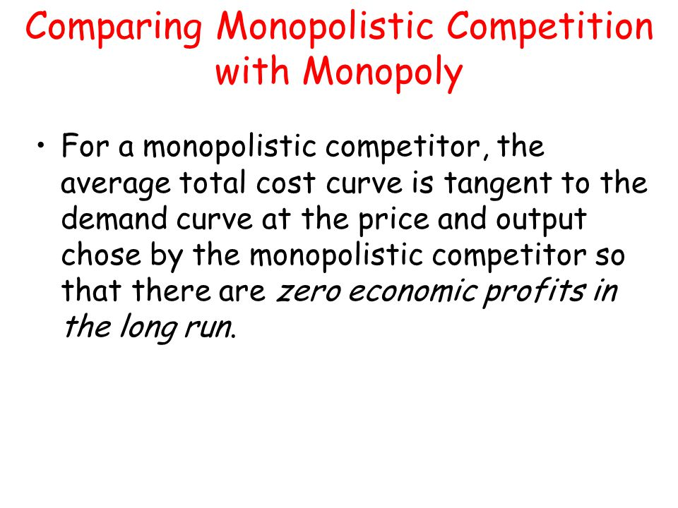 difference between oligopoly and monopolistic competition pdf