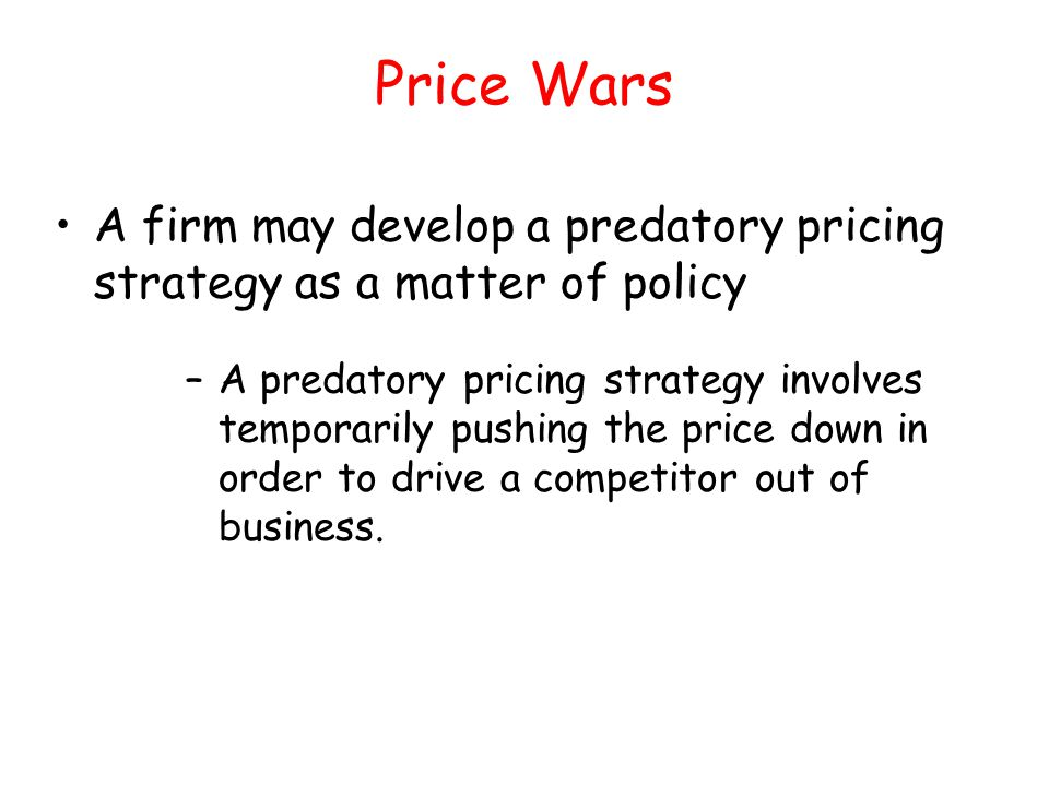 duopoly competition and certain business decisions Structure, determine price and output decisions and a out of business • the threat of outside competition limits oligopolies from duopoly example • the prisoners dilemma has its simplest application when the oligopoly consists.