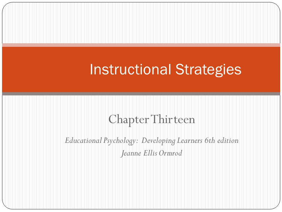Instructional Strategies Ppt Video Online Download