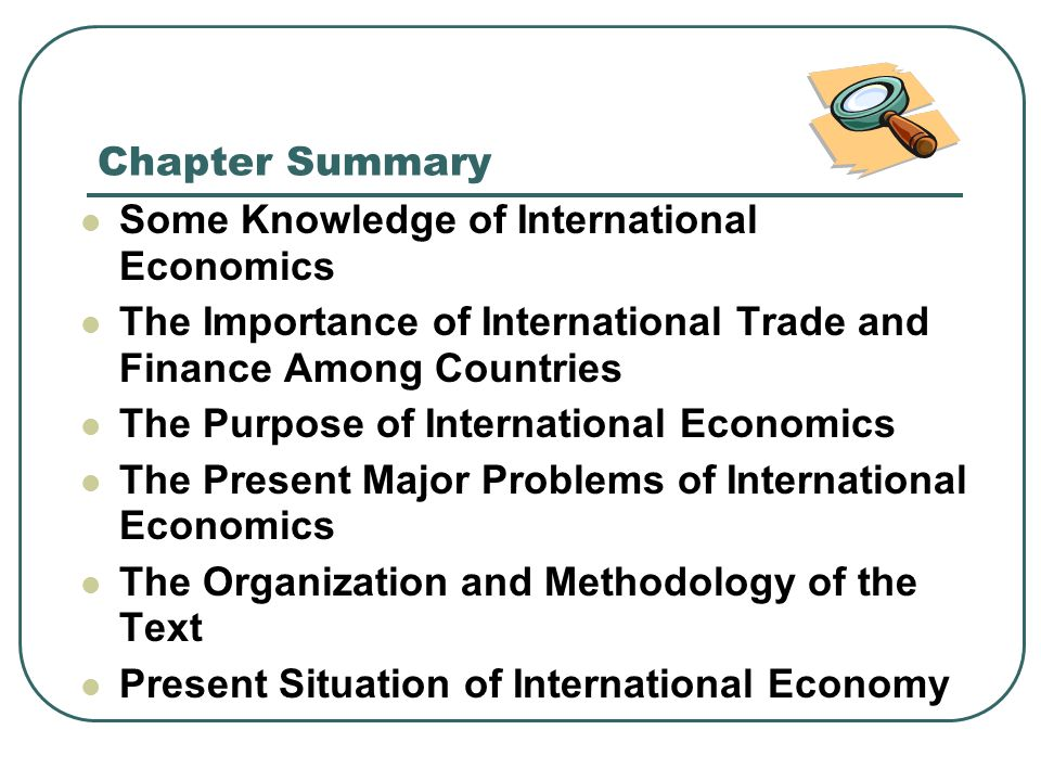 importance of international finance Types of finance 2 definition of financial management 3  • importance to evolution of financial performance 68 • importance to other financial decisions 68.