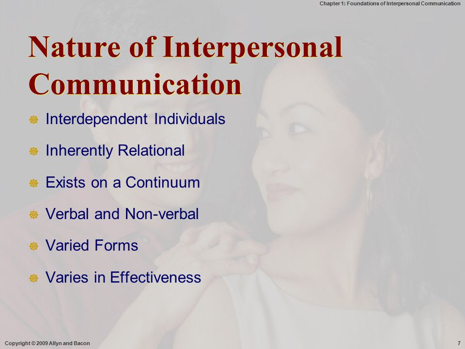 interpersonal communication inherently relational Knapp's relational development model portrays relationship development as a ten step process, broken into two phases created by and named after communication scholar mark l knapp, the model suggests that all of the steps should be done one at.