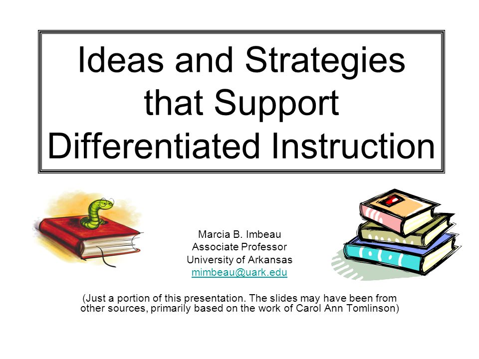 Snap Differentiation Instruction Strategies To Support It Ppt Video