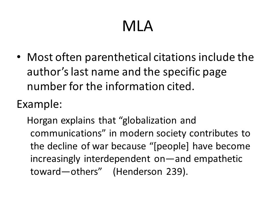 MLA Style Guide, 8th Edition: About MLA