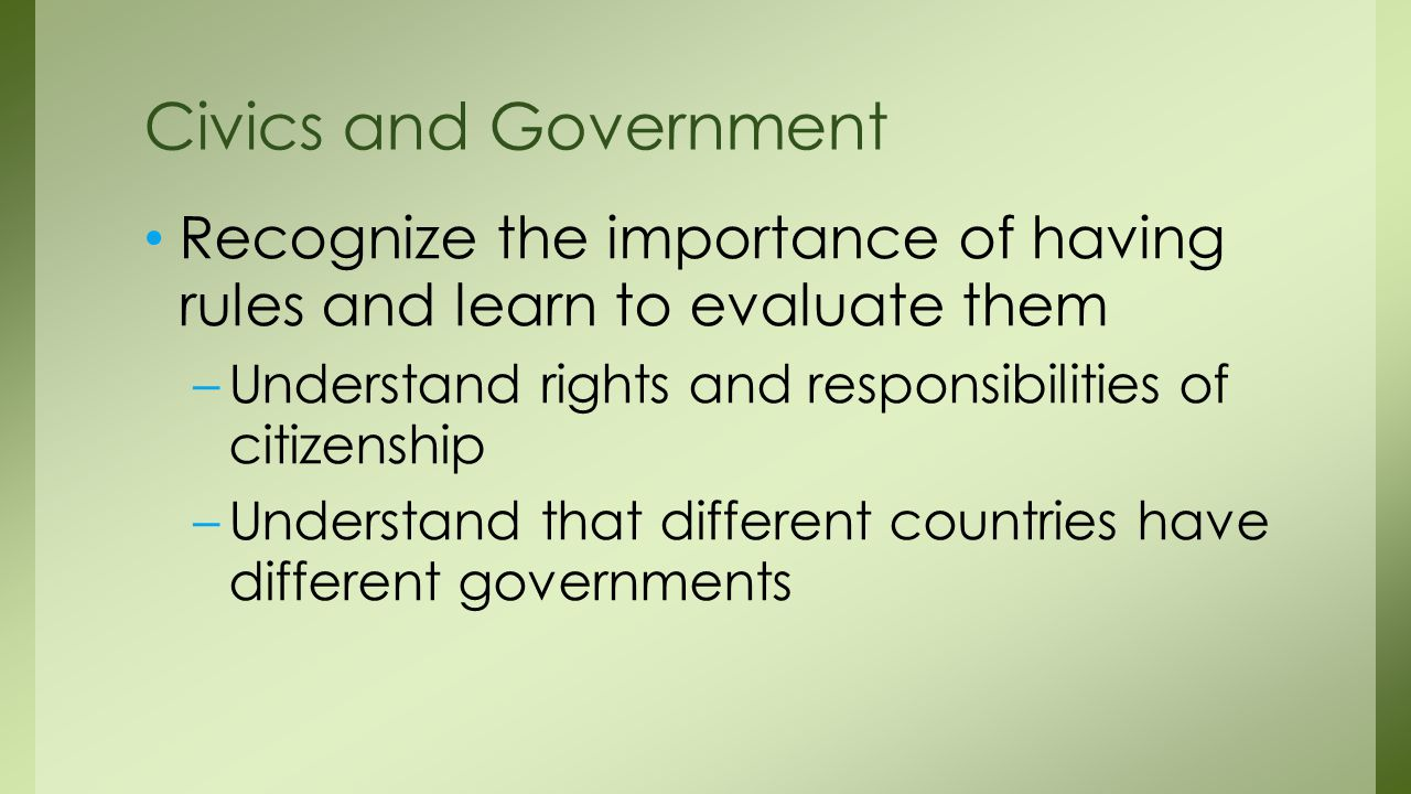 importance of government Definition of government: a group of people that governs a community or unit it sets and administers public policy and exercises executive,.